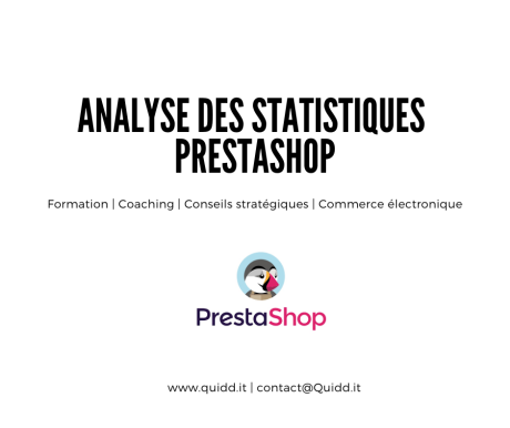 Analyse des statistiques – Prestashop