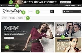 Home page prestashop