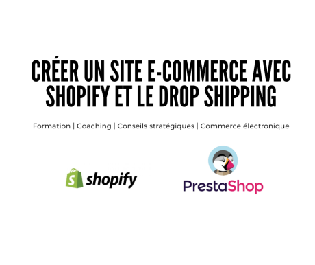 Creer un site dropship shopify