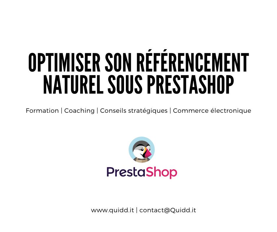 Optimiser son référencement naturel – Prestashop