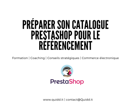 Préparer son catalogue Prestashop pour le référencement