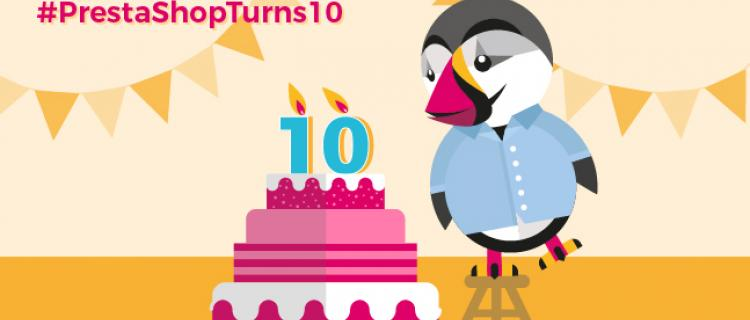 Prestashop 10 years old !